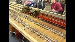 16mm Narrow Gauge Nant Mawr Light Railway on Tour