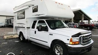 HaylettRV.com - 2009 North Star 8.5 Arrow Used Truck Camper and 1999 Ford F250 Pickup Truck