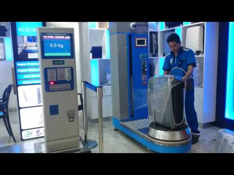 Dubai baggage wrapping service