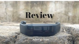 Lenovo HW01 Smart Band Review After 45 Days Hindi