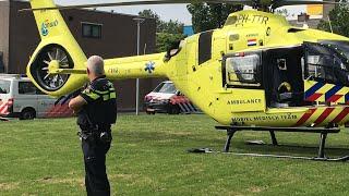 Traumaheli in Dordrecht voor Medische Noodsitatie (Zijldiep)
