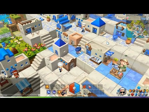 MapleStory 2 CBT Town: Lith Harbor Tour [HD]