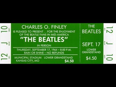 The Beatles ~ Kansas City/Hey Hey Hey Hey September 17 1964 - 50 Years Ago!