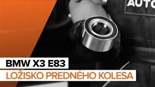 Montáž Silentblok Stabilizátora BMW X3 (E83): video zadarmo