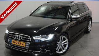 Audi S6 Avant 4.0 TFSI S6 QUATTRO. NL AUTO! LUCHTV./BOSE/PANO/SERVO. VOLL!!