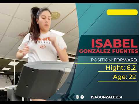 Highligts Isabel González Season 2020 - 2021 at Connors State College at NCJAA Div. I