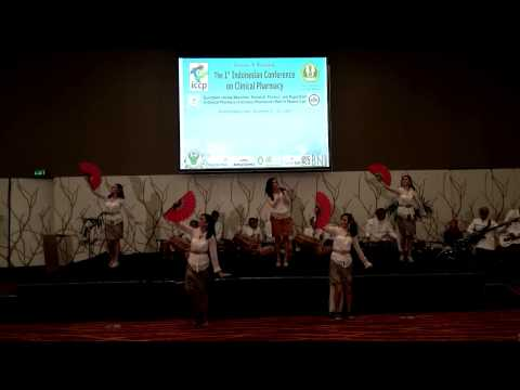 Opening ceremony The first indonesian conference of clinical pharmacy
