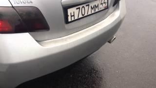 видео тойота камри глушитель