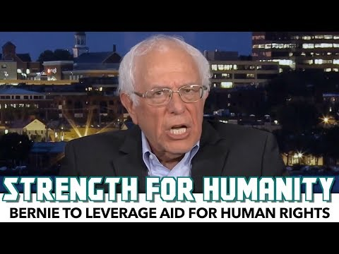 Bernie Has A Strong Message For Israel: 'If You Want Aid, Stop Your Abuses'