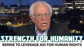 Bernie Has A Strong Message For Israel:
