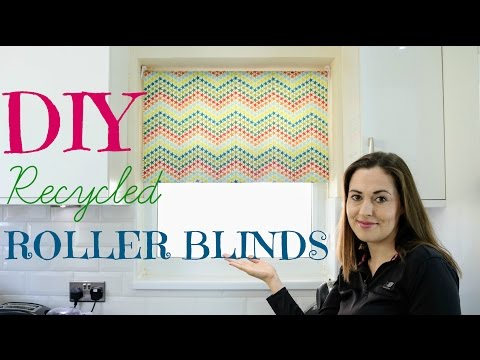 How To Recycle Roller Blinds DIY | The Carpenter's Daughter