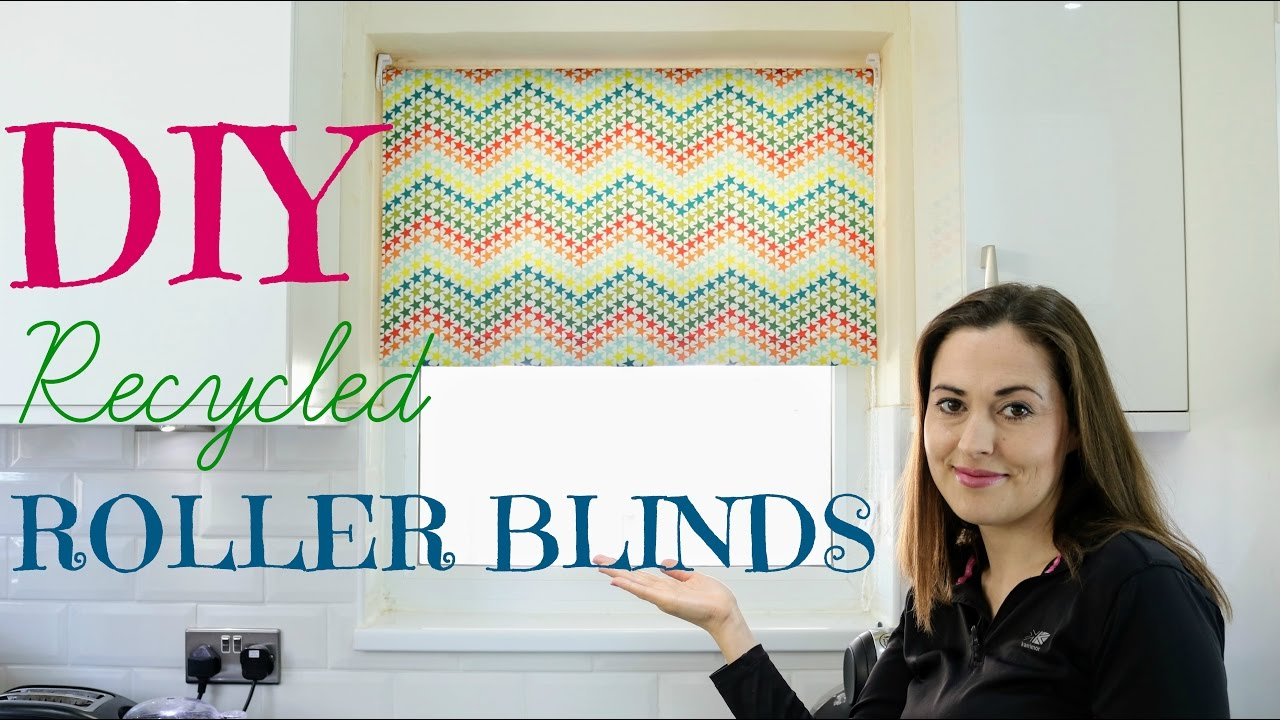 How To Recycle Roller Blinds Diy The Carpenter S Daughter Youtube