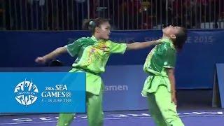 Wushu Women's Duel Event - Barehand (Day 3) | 28th SEA Games Singapore 2015