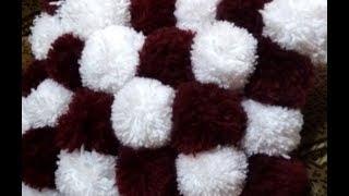 як зробити килимок з ниток