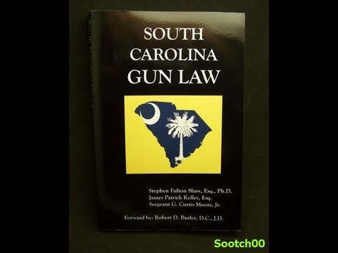 South Carolina Gun Law Book