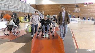 handicapés et valides : tous sportifs