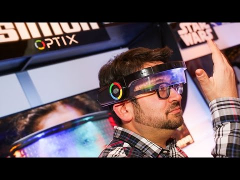 Simon Optix Turns Your Face Into A Board Game Youtube
