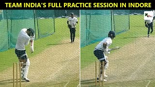 Watch: Indian cricketers get a feel of new SG pink balls during practice session in Indore