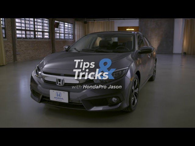 2016 Honda Civic Tips & Tricks: Keyless Access Setup