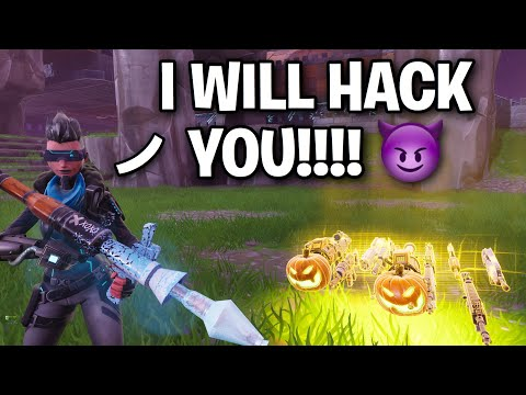 Hacking Scammer Crashed my GAME!! ?? (Scammer Get Scammed) Fortnite Save The World