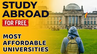 Best Countries to Study Abroad for Free | Most Affordable Universities