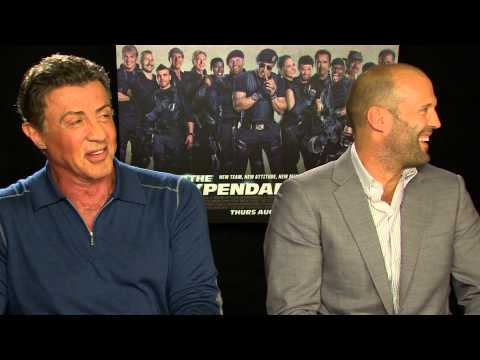 The Expendables 3 - Sylvester Stallone and Jason Statham interview   Empire Magazine