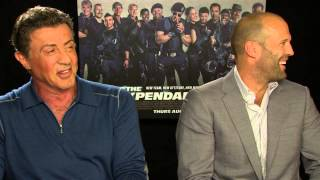 The Expendables 3 - Sylvester Stallone and Jason Statham interview