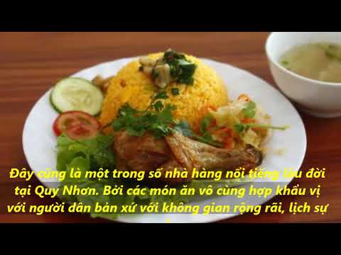 Du lịch Quy Nhơn -Top nhà hàng đẹp và ngon tại phố biển Quy Nhơn