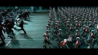 I,Robot |2004| Battle Scene