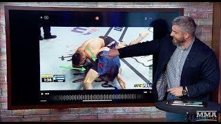 Yair Rodriguez's Insane Elbow KO, Donald Cerrone's Arm-bar   Monday Morning Analyst #457