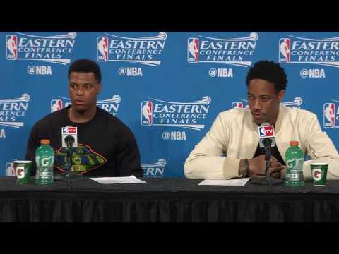 Raptors Post-Game: Kyle Lowry & DeMar DeRozan - May 19, 2016