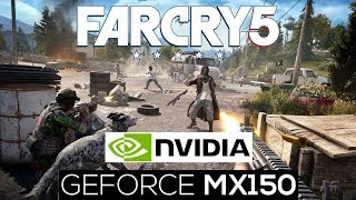Far Cry 5 Gameplay on Nvidia GeForce MX150 in MEDIUM PRESET | Acer Aspire 5 A515-51G | Laptop Gaming