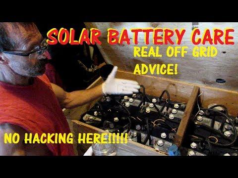 SOLAR BATTERY'S: NO HYPE  NO HACKS MAINTENANCE