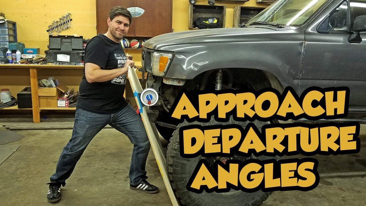 How To Improve Your Approach And Departure Angles On Your Toyota Off Road Rig Youtube