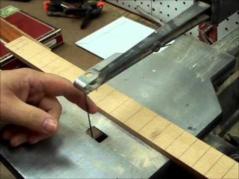 part 2 cigar box guitar neck building youtube. Black Bedroom Furniture Sets. Home Design Ideas