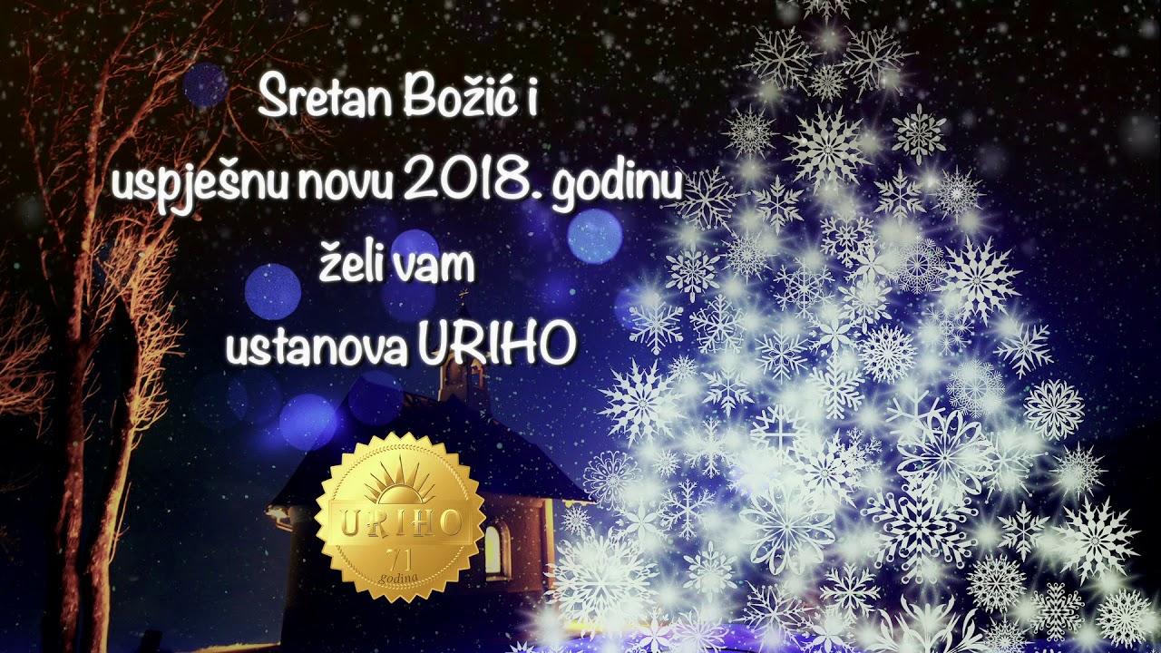 božićn čestitke Božićna čestitka 2018 URIHO   YouTube božićn čestitke