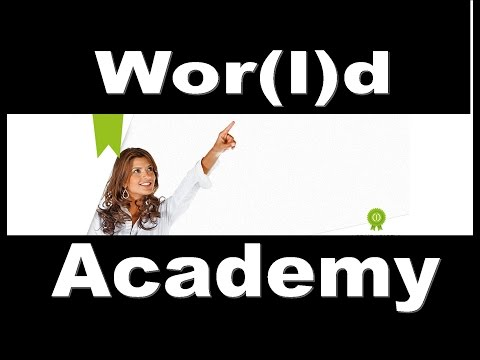 World Academy - World Global Network Training Coarse, HELP for Consultants - Join WGN!