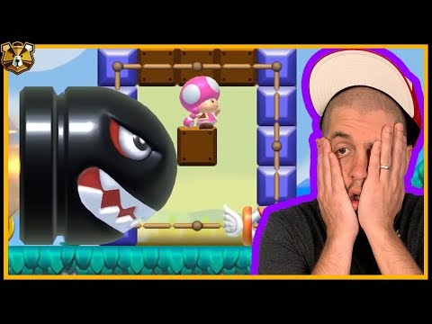 Endless Expert #11: I Blame Carl! Super Mario Maker 2