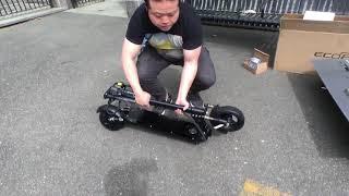 Unboxing Ecoreco L5 plus + test drive