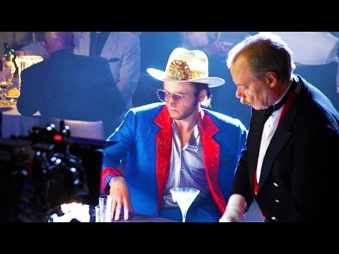Behind The Scenes on ROCKETMAN - Songs, Clips & Bloopers