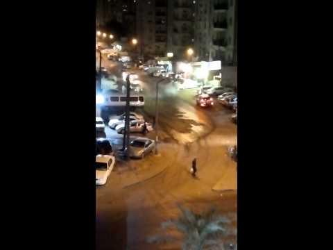 Drifting night cars in kuwait...awsome