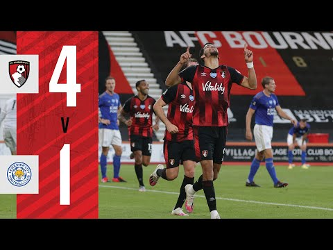 SOLANKE AT THE DOUBLE 🙌   AFC Bournemouth 4 - 1 Leicester City