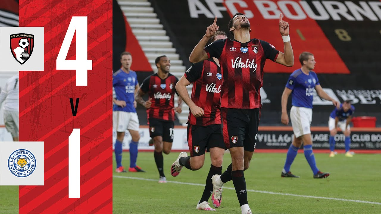 SOLANKE AT THE DOUBLE ???? | AFC Bournemouth 4 - 1 Leicester City