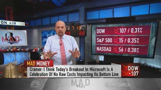 Jim Cramer: How inflation affects stocks of Alphabet, Microsoft and Apple