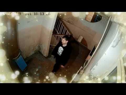 г. Шарыпово, Видеонаблюдение в подъезде 4\4. Серия №4 - наркоманская