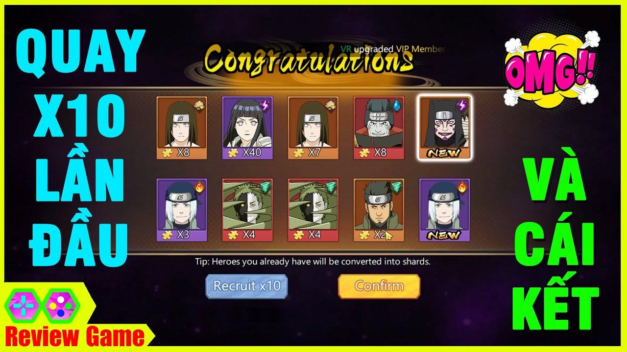 Quay X10 Lần Đầu Game NARUTO Cực Đỉnh Will Of Shinobi \u0026 Cái Kết Bất Ngờ, Game Cực Quấn \u0026 Đỉnh