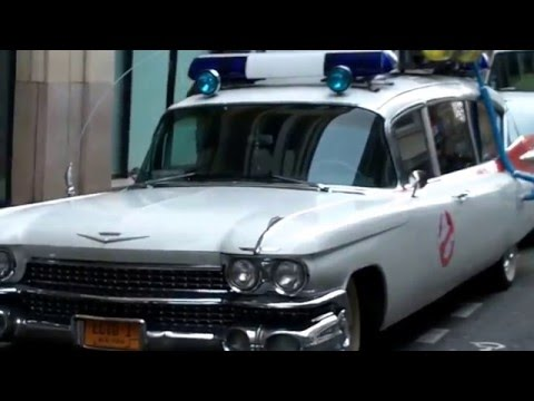 ECTO 1 Ghostbusters III Car @ Paris France 13 january 2016 SOS Fantomes streaming vf