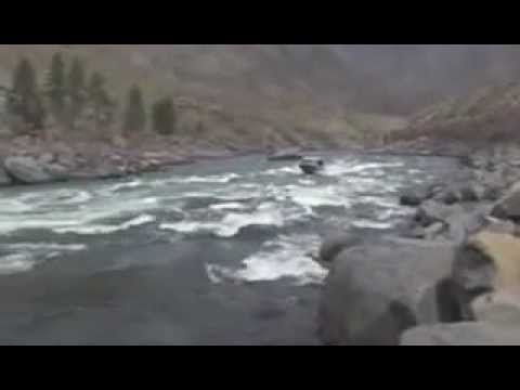 HamiltonJet Video 4: Bentz Boats, classic Northwest river boats running the Snake and Salmon River