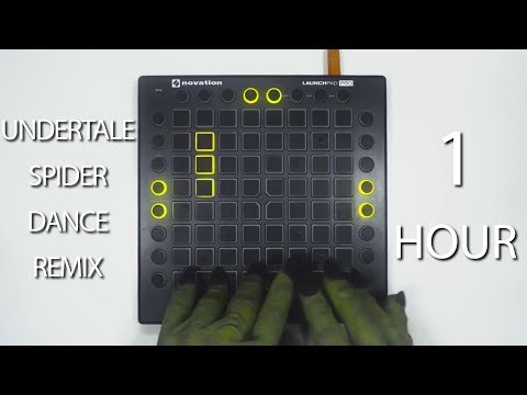 Undertale - Spider Dance (Party In Backyard Remix) 【1 HOUR】 [GFM Launchpad Cover]