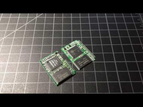 What'a inside a Compact (CF) Flash Card? Teardown